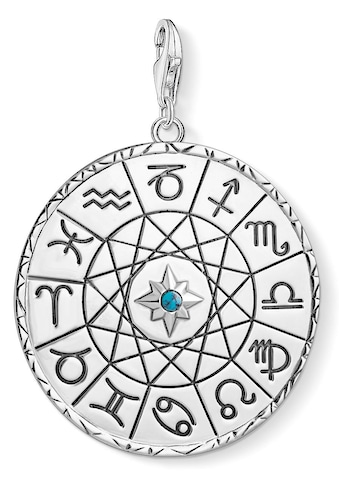 THOMAS SABO Charm Sternzeichen »Sternzeichen Coin silber, Y0037-878-21«, mit imit. Türkis kaufen