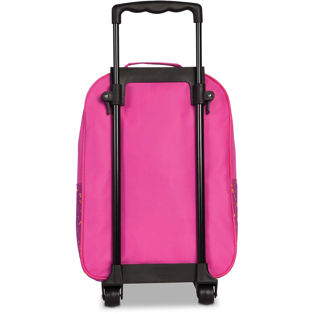 fabrizio® Kinderkoffer »44Cats, Rosa«, (Set, 2 St.), 2 Rollen, Trolley & Rucksack