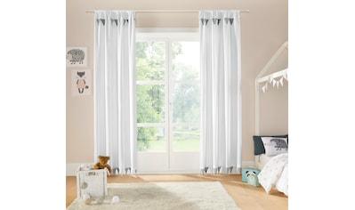 Vorhang, »Wimpel«, Lüttenhütt, Stangendurchzug 1 Stück kaufen