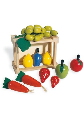 """Pinolino® Kaufladensortiment """"Kiste mit Gemüse"""", (11 - tlg.) kaufen"""