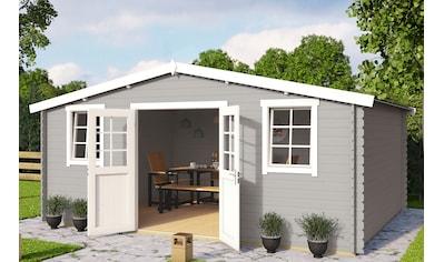 OUTDOOR LIFE PRODUCTS Gartenhaus »Mosel 5«, BxT: 549x420 cm, inkl. Fußboden kaufen