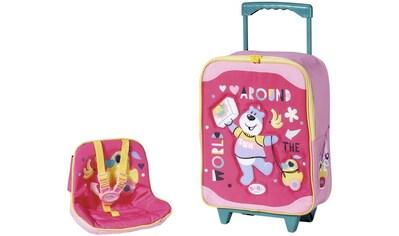 Baby Born Puppen Koffer »Holiday Trolley mit Puppensitz« kaufen