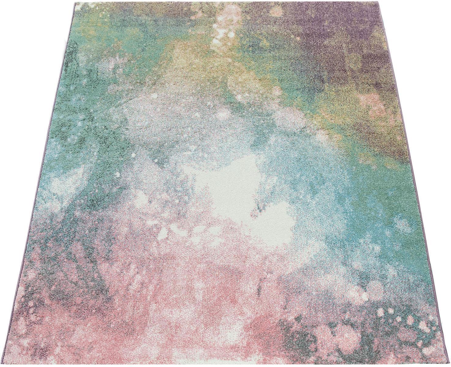 Teppich Mero 100 Paco Home rechteckig Höhe 17 mm maschinell gewebt