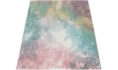 Teppich, »Mero 100«, Paco Home, rechteckig, Höhe 17 mm, maschinell gewebt kaufen