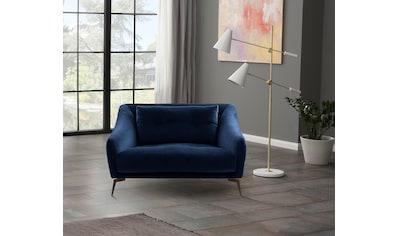Places of Style Sessel »Williston«, auch in Echtleder, stabiles Untergestell kaufen