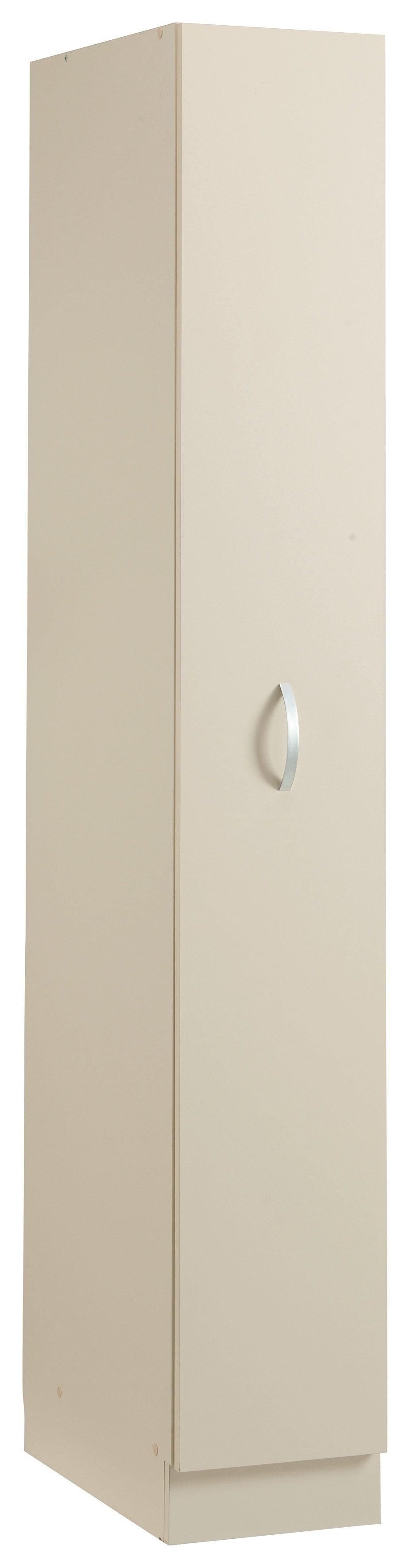 Apothekerschrank Amrum   Küche und Esszimmer > Küchenschränke > Apothekerschränke   Gelb   Glänzend - Metall - Melamin
