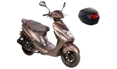 AGM MOTORS Mofaroller »GMX 460 Sport«, 2,3 PS, inkl. Topcase kaufen