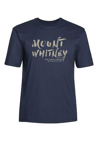 AHORN SPORTSWEAR T - Shirt mit modischem Print »Mount Whitney« kaufen