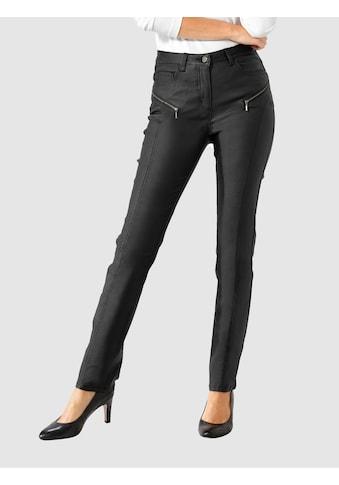 Paola 5-Pocket-Hose, mit dezenter Glanzbeschichtung kaufen