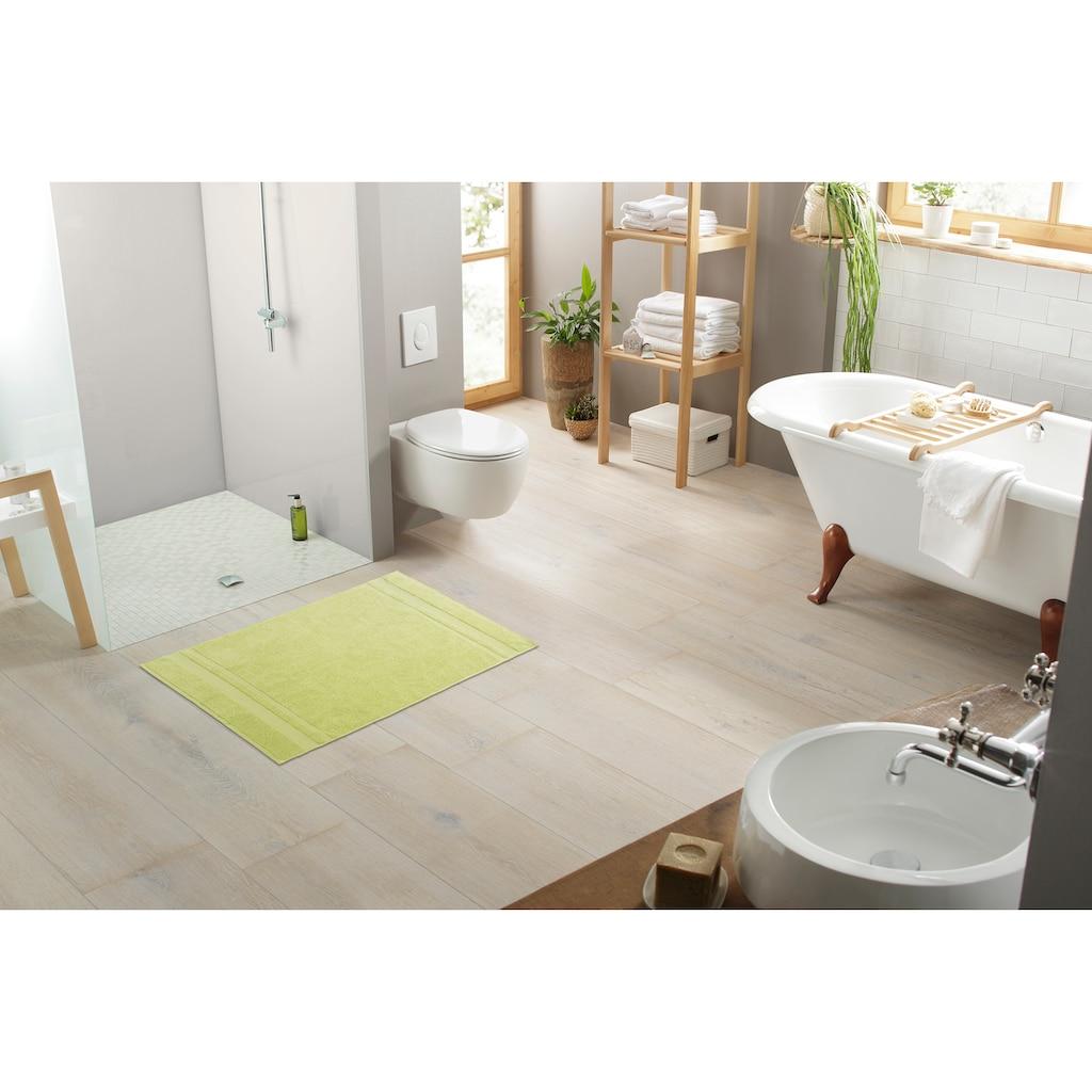 my home Badematte »Vanessa«, Höhe 4 mm, beidseitig nutzbar, 2-er Set