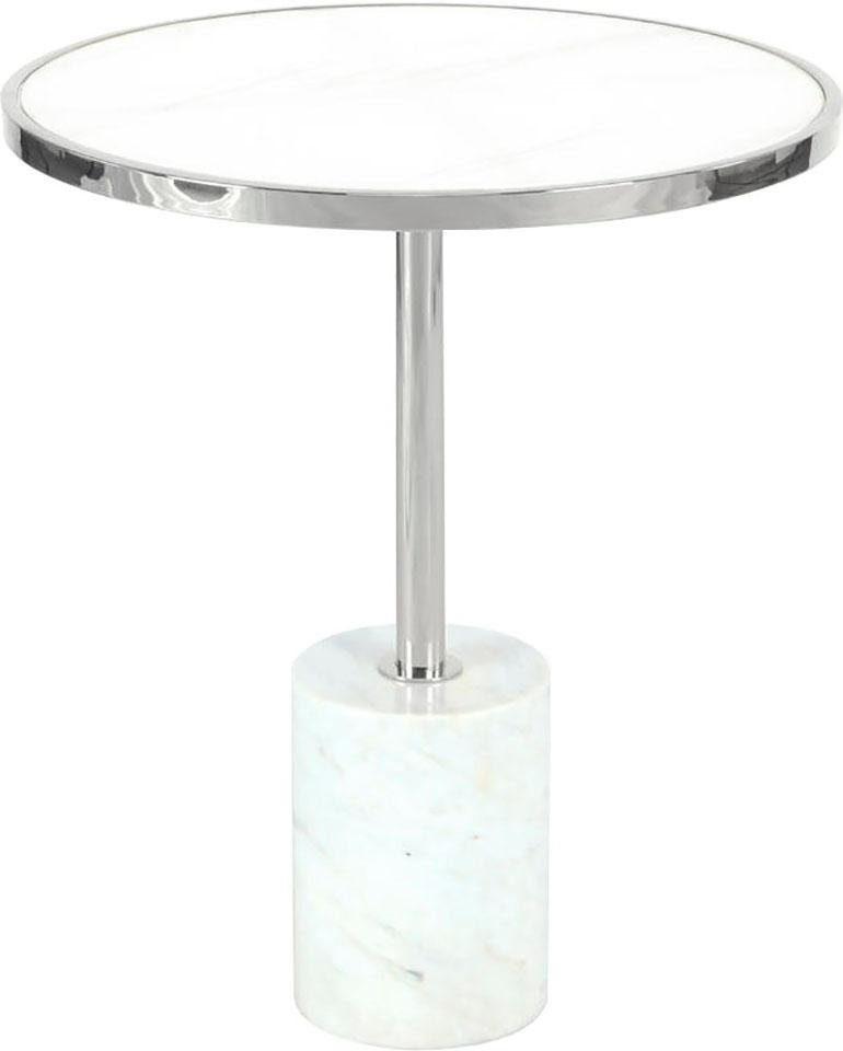 Kayoom Beistelltisch Lana 525, rund weiß Beistelltische Tische