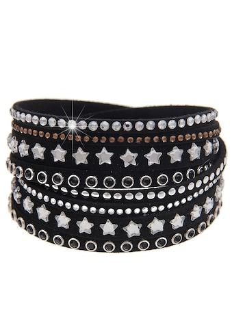 leslii Wickelarmband mit funkelnden Glitzer - Sternen kaufen