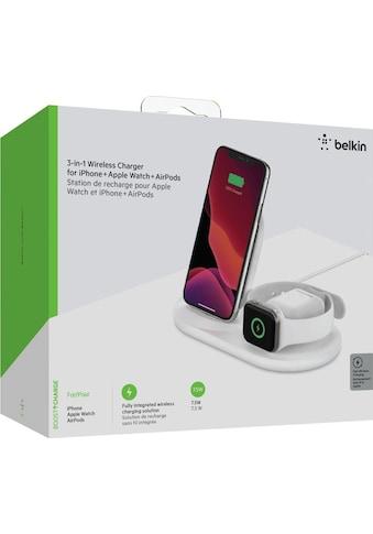 Belkin Wireless Charger »3-in-1 Wireless Ladestation für Apple«, Fast Wireless... kaufen
