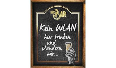 Home affaire Deco-Panel »Kein WLAN«, 40/50 cm kaufen