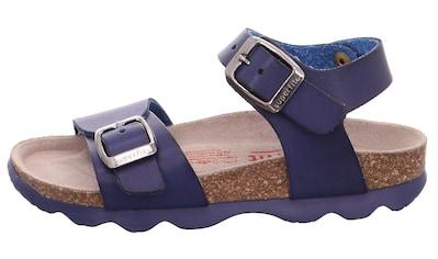 Superfit Sandale »Tieffußbett Sandale WMS Weiten-Messsystem: mittel«, mit verstellbaren Schnallen kaufen