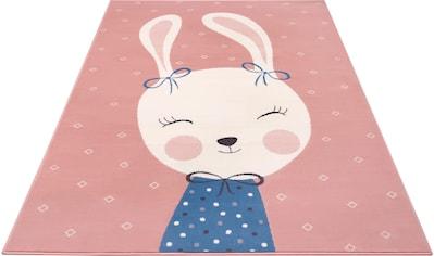 Kinderteppich, »Bunny Polly«, HANSE Home, rechteckig, Höhe 9 mm, maschinell gewebt kaufen