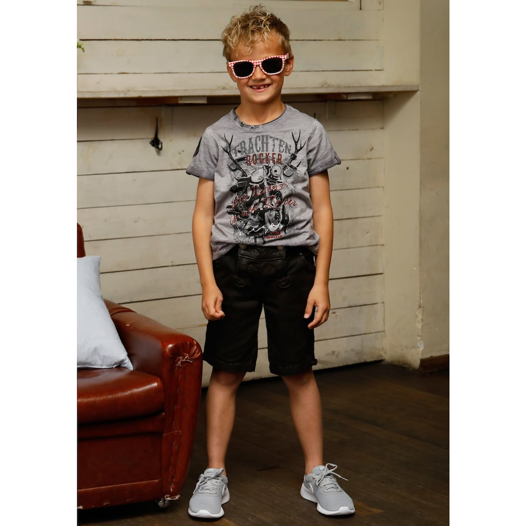 Andreas Gabalier Kollektion Trachtenhose, Kinder mit gewachstem Finish