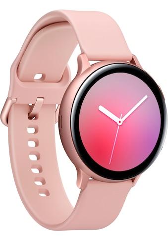 Samsung Smartwatch »Galaxy Watch Active2 Aluminium, 44 mm, Bluetooth (SM-R820)«, (... kaufen