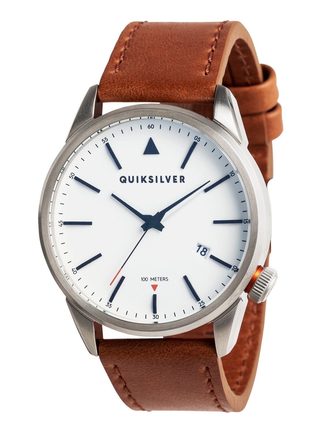 Quiksilver Quarzuhr The Timebox 42 Leather | Uhren > Quarzuhren | Grau | Quiksilver