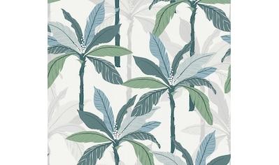A.S. Création Vliestapete »Geo Nordic«, floral, mit Dschungelmotiv kaufen