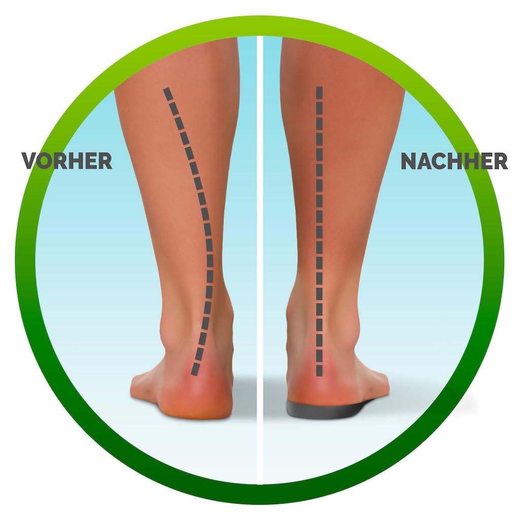Scholl Einlegesohlen »In-Balance bei Schmerzen im Fußgewölbe«, in 3 Größen S (37-39.5), M (40-42) und L 42.5-45)