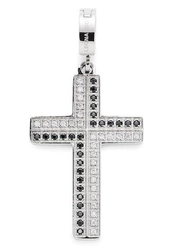 LEONARDO Charm-Einhänger »Kreuz, Nora Darlin's, 017028«, mit Zirkonia kaufen