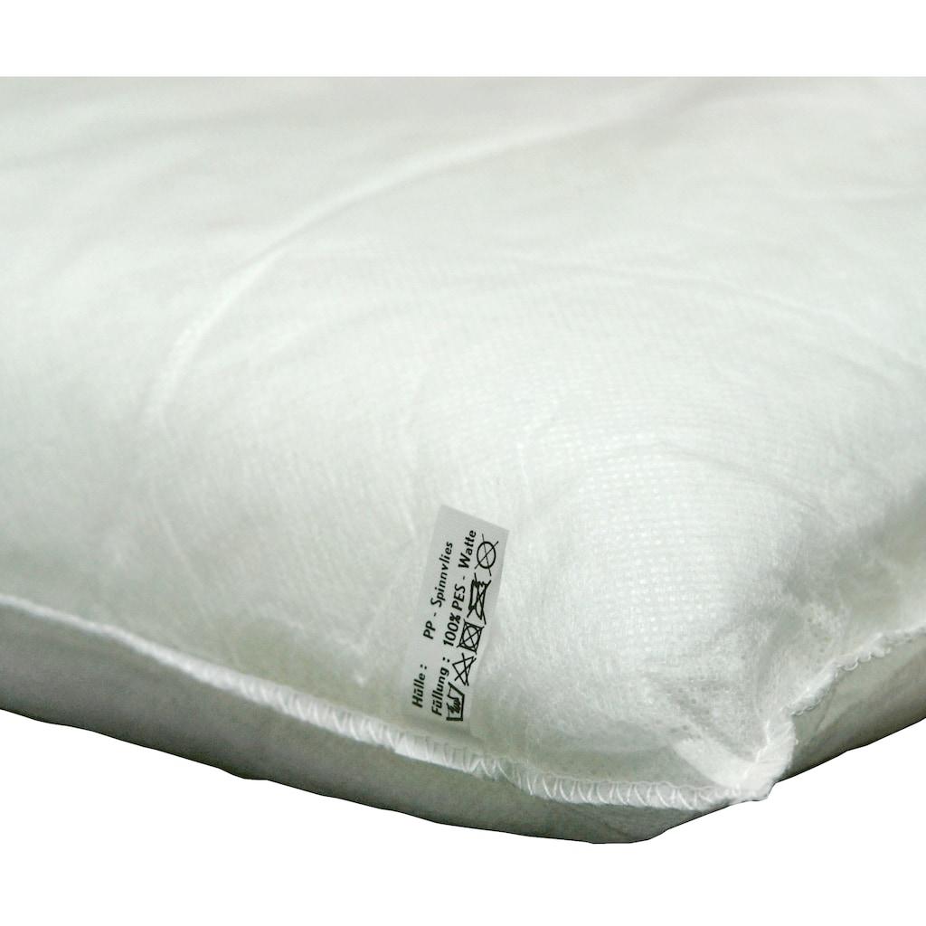 indoba Hochlehnerauflage »Premium«, extra dick - Gelb- IND-70442-AUHL