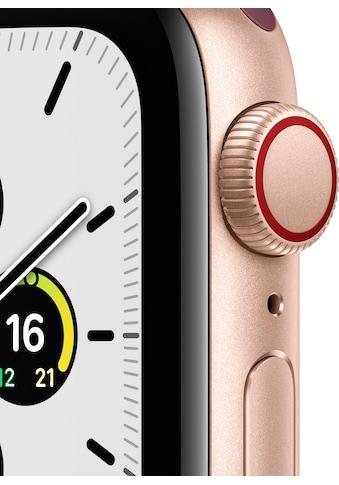 Apple Smartwatch »SE GPS + Cellular, Aluminiumgehäuse mit Sport Loop 40mm«, ( Watch OS 6 inkl. Ladestation (magnetisches Ladekabel)) kaufen