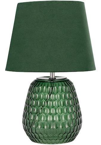 Pauleen Tischleuchte »Crystal Velours«, E14, 1 St., Grün, Glas, Samt kaufen