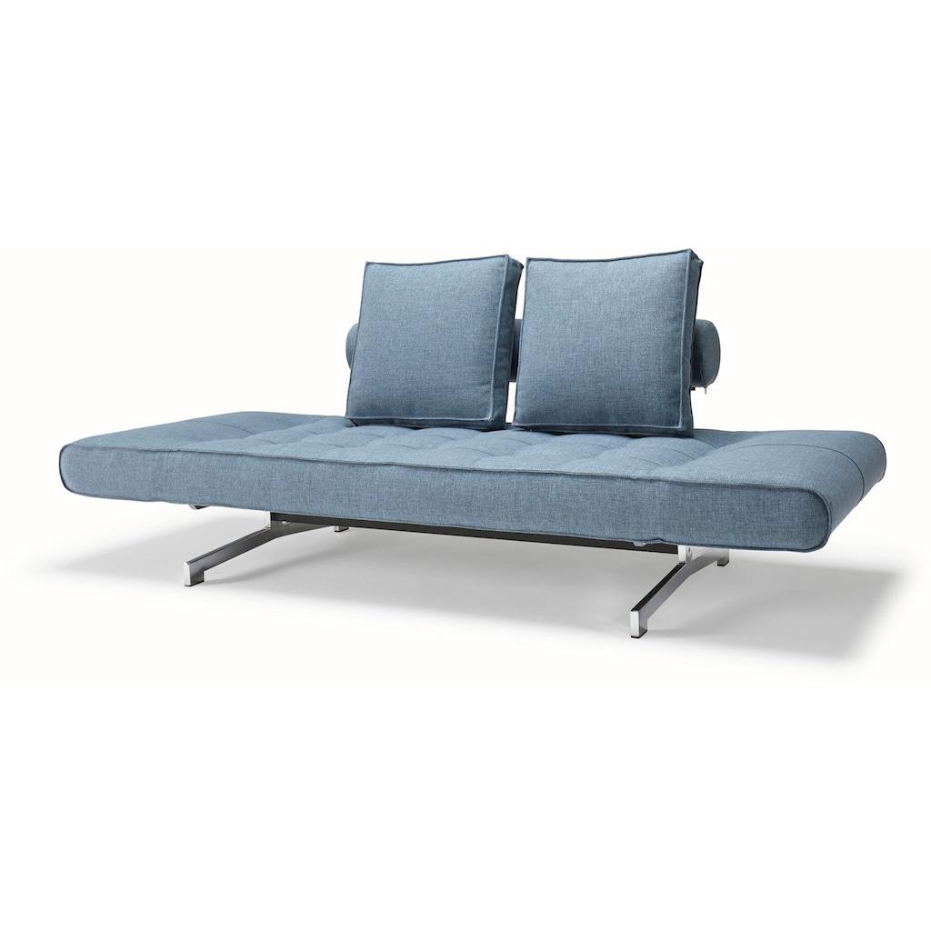 INNOVATION LIVING ™ Schlafsofa »Ghia«, in scandinavischem Design, mit zwei losen Rückenkissen