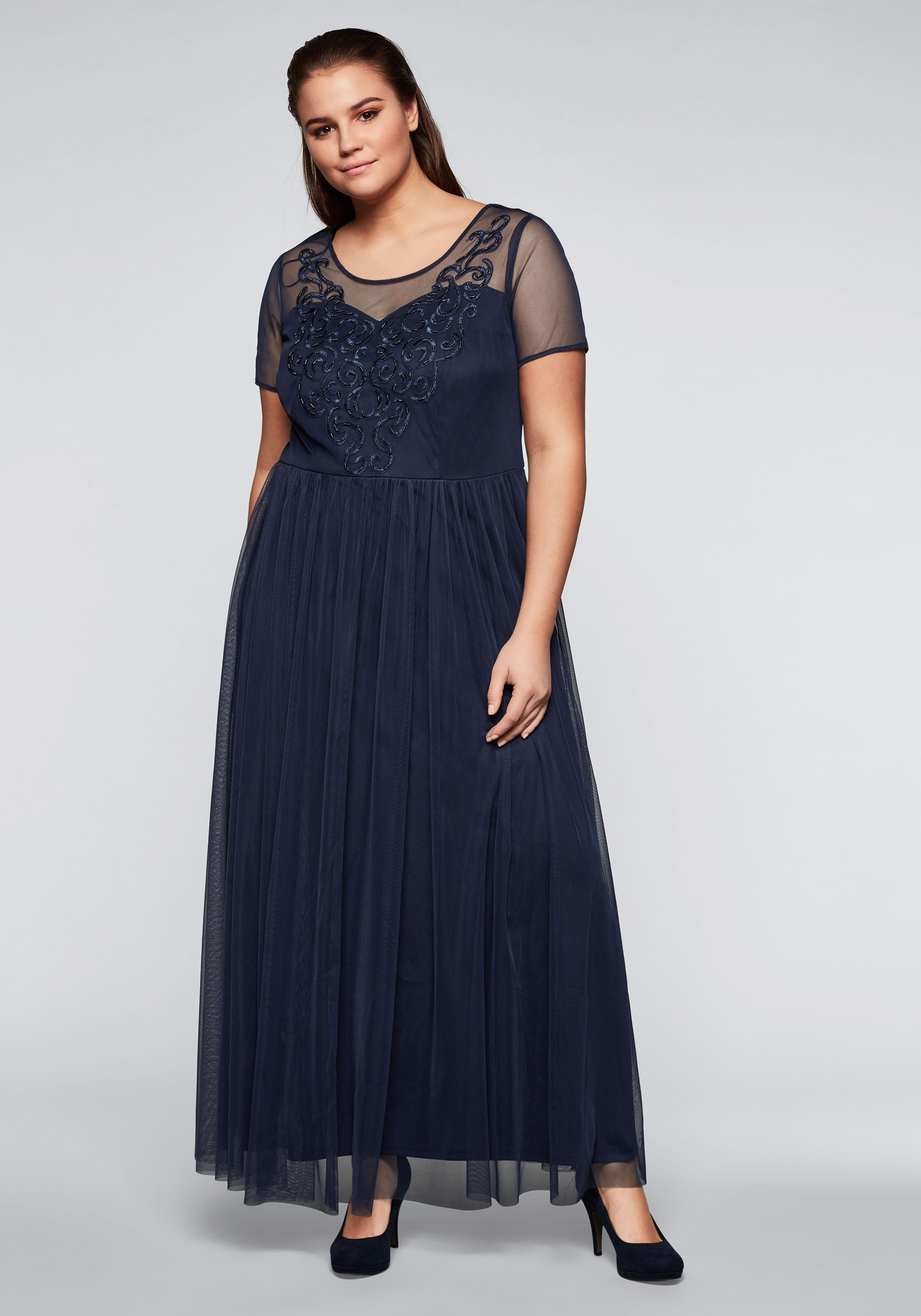 Sheego Abendkleid Damenmode/Bekleidung/Kleider/Abendkleider