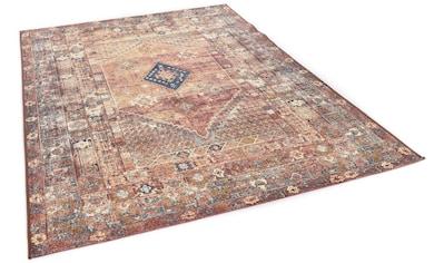 TOM TAILOR Teppich »Funky Outdoor Orient Two«, rechteckig, 5 mm Höhe, Flachgewebe,... kaufen