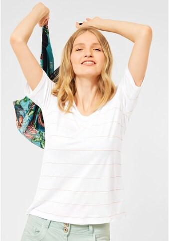 Cecil T-Shirt, mit dekorativem Folien-Print kaufen