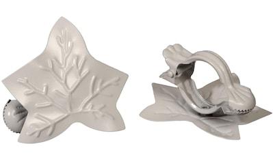 Liedeco Dekoklammer »Blatt«, (Packung, 2 St.), für Gardinen, Vorhänge kaufen