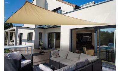 Floracord Sonnensegel »Dreieck«, B: 460 cm, elfenbeinfarben kaufen