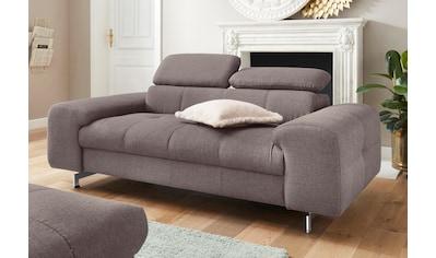 COTTA Polstergarnitur, Set: bestehend aus 2-Sitzer und Hocker, Sofa mit... kaufen