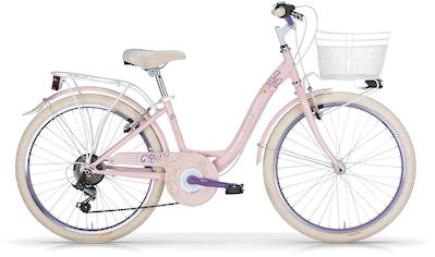 MBM Trekkingrad »Fleur«, 6 Gang Shimano ty21 Schaltwerk, Kettenschaltung kaufen