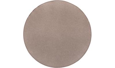 LUXOR living Teppich »Luton«, rund, 5 mm Höhe, melierte Optik, Wohnzimmer kaufen