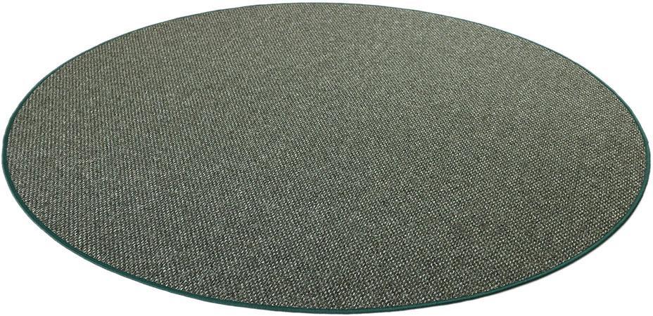 Teppich,  Stanford , Living Line, rund, Höhe 7 mm, maschinell gewebt Preisvergleich