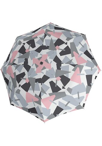 "doppler® Taschenregenschirm ""Fiber Magic Crush, grau"" kaufen"