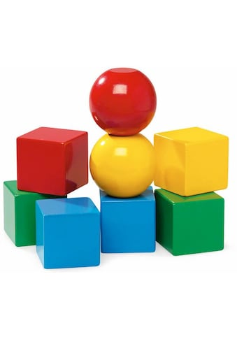 """BRIO® Konstruktionsspielsteine """"Magnetische Holzbausteine"""", Holz, (8 - tlg.) kaufen"""
