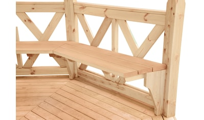 WOLFF FINNHAUS Sitzbank »Kreta 8 XL« kaufen