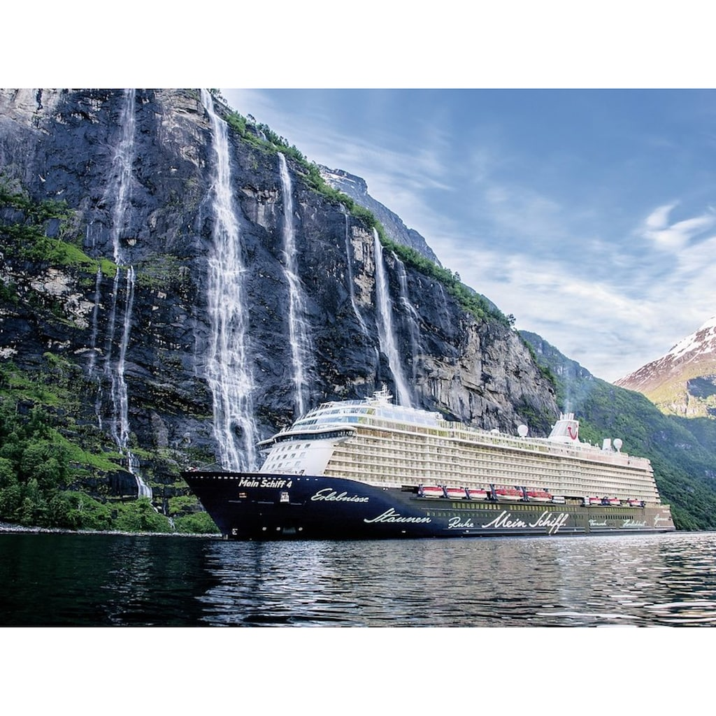 "Ravensburger Puzzle ""Mein Schiff 4 im Fjord"""