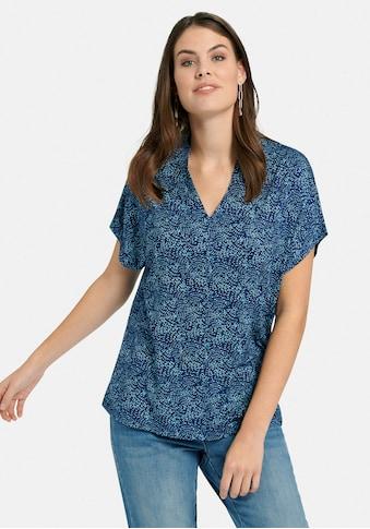 Emilia Lay V-Shirt »mit überschnittener Schulter«, und Print kaufen