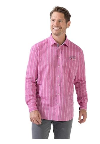 Marco Donati Langarm - Hemd mit eingewebtem Streifen - Muster kaufen