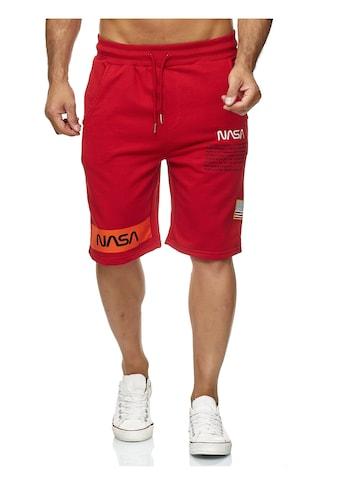 RedBridge Shorts »Plano«, mit gesticktem NASA-Motiv kaufen