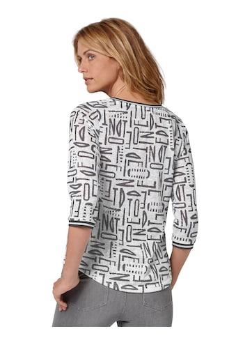 Ambria Shirt im angesagten Buchstaben - Print kaufen
