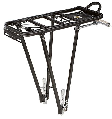 Prophete Fahrrad-Gepäckträger schwarz Rad-Ausrüstung Radsport Sportarten Gepäckträger