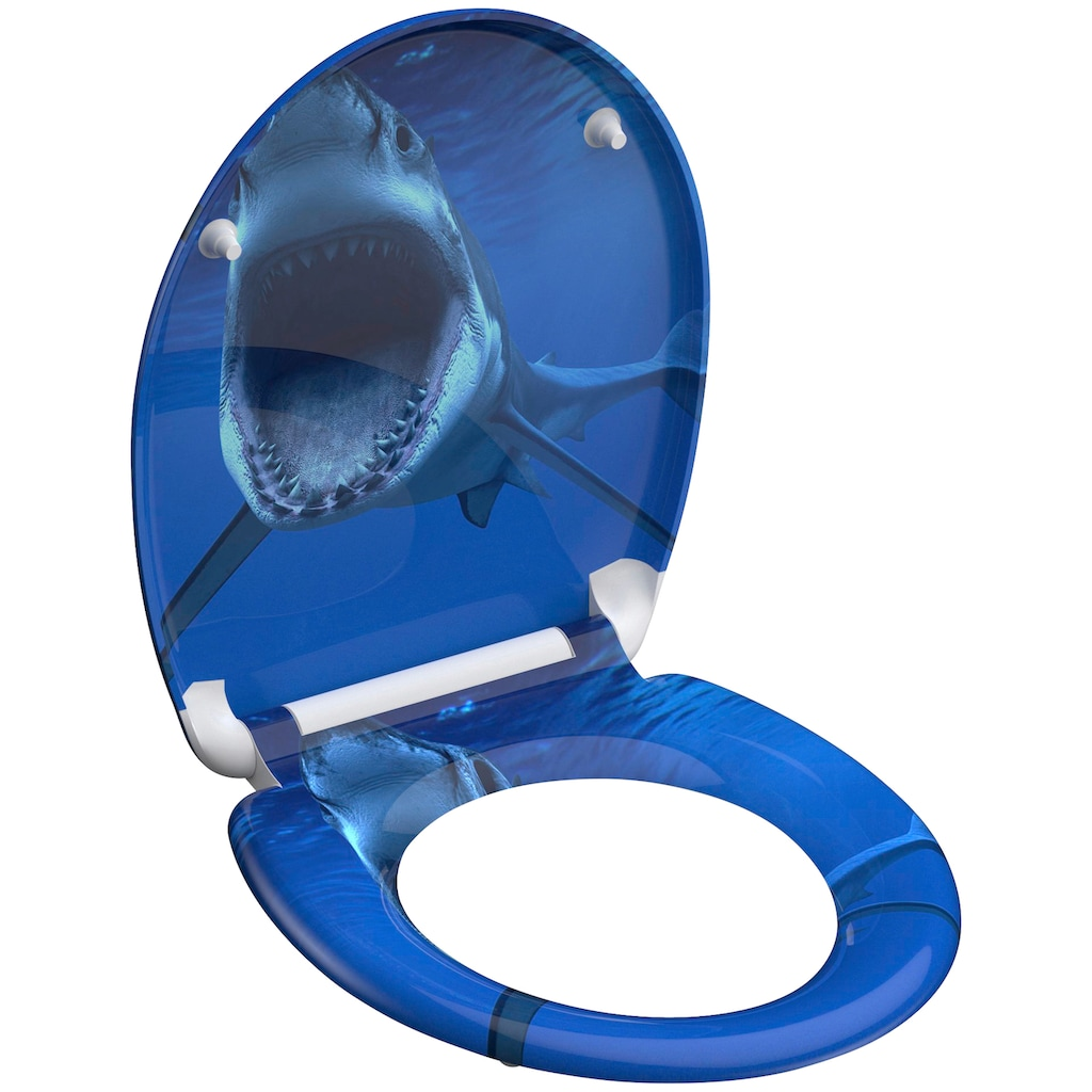 Schütte WC-Sitz »Shark«, aus Duroplast mit Absenkautomatik