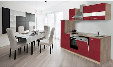 Küchenzeile, mit E - Geräten, Breite 250 cm kaufen